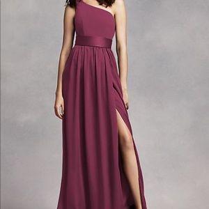 Vera Wang Bridesmaid Dress (One Shoulder)
